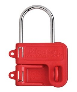 Lockout Hasp -Xenoy ® body - 4mm diam. Shackle