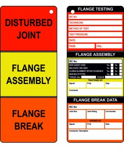 Flange Tag (Pack of 10)