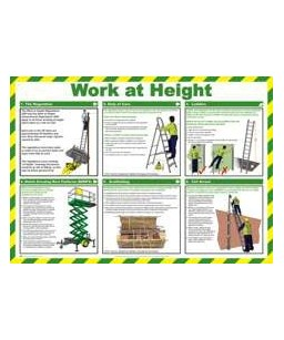 Working At Height Poster