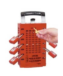 Group Lockout Box – Portable or Wall Mounted Boxes Available