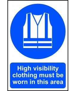 High visibility clothing...