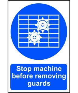 Stop machine before...