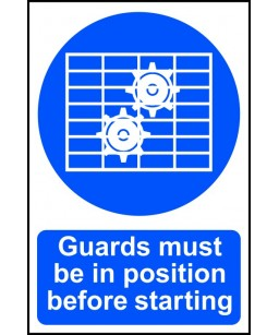 Guards must be in position...