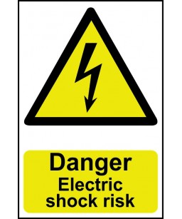 Danger Electric shock risk...