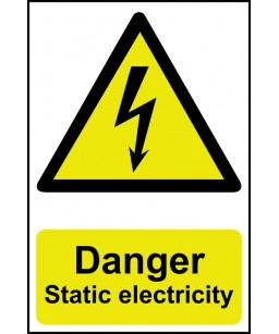 Danger Static electricity...