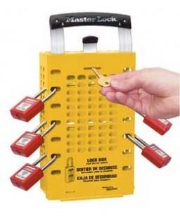Latch Tight Group Lock box - Yellow