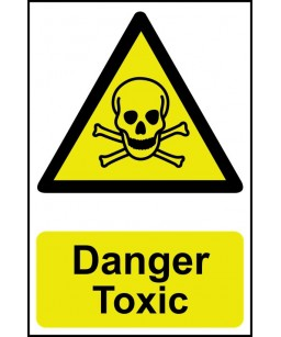 Danger Toxic Safety Sign