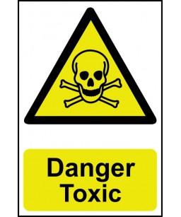 Danger Toxic Safety Sign