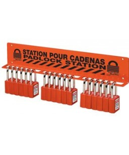 Heavy Duty Padlock Station 18-22