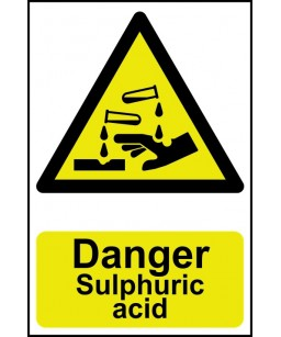Danger Sulphuric acid...