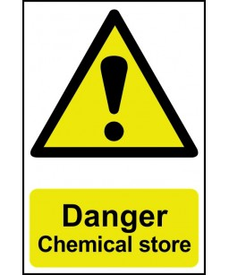 Danger Chemical store...