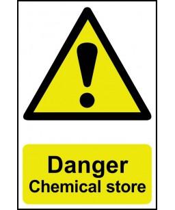Danger Chemical store...