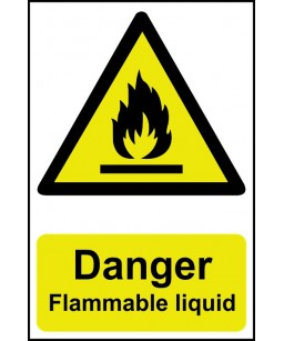 Danger  flammable liquid...