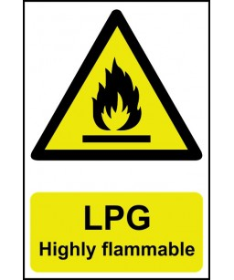 LPG Highly flammable Safety...
