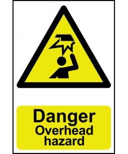 Danger Overhead hazard...