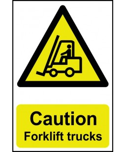 Caution Forklift trucks...