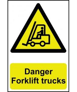 Danger Forklift trucks...