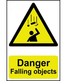 Danger Falling objects...