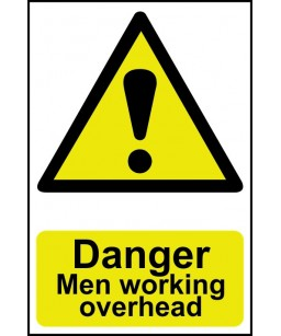 Danger Men working overhead...