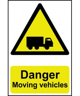 Danger Moving vehicles...