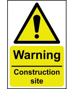 Warning Construction site...