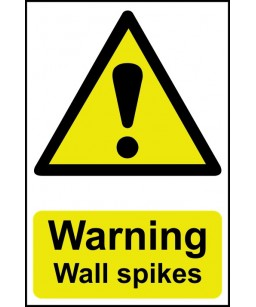 Warning Wall spikes only...