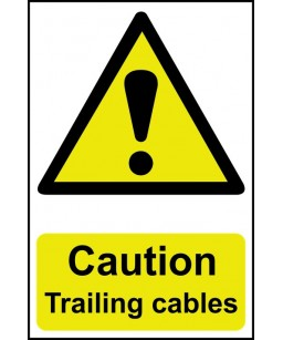 Caution Trailing cables...