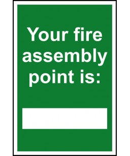 Your fire assembly point...