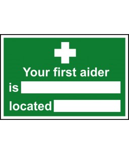 Your first aider is Safety...