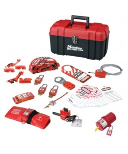 Valve and Electrical Lockout Kit + Electrical Plug