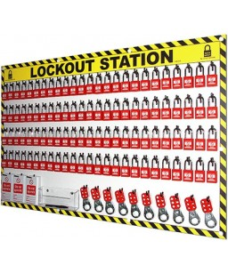 100 Lock Out Station with...