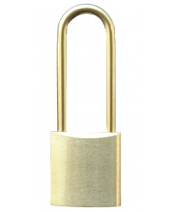 Long 32mm Brass Padlock and...