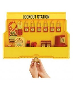 Deluxe Lockout Station with Com Lock