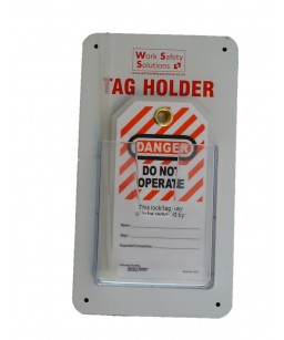 Lock Out Tag Holder