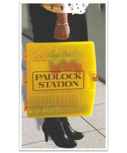 Portable Padlock Lockout...