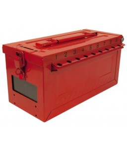 S600 Portable Group Lock Box with Key Window