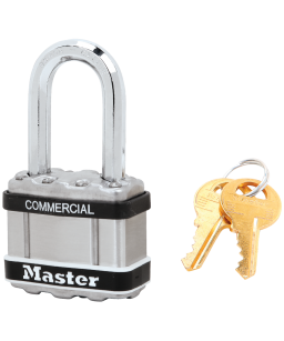 Commercial Excell® laminated steel padlock M5LFSTS