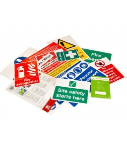 Site Safety Sign Pack A 17333