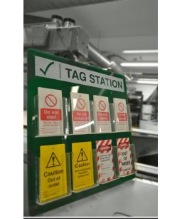 Lock out Tag station