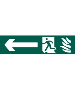 Running Man Arrow Left