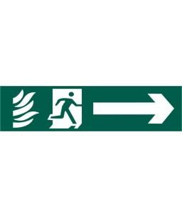 Running Man Arrow Right