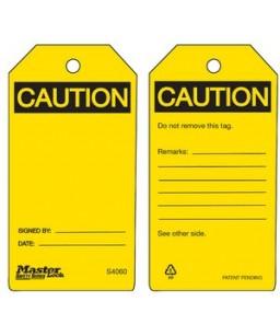 Blank Tag Yellow