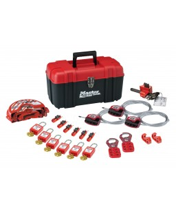 Portable Lockout kit -Electrical & Valve / 6 Locks