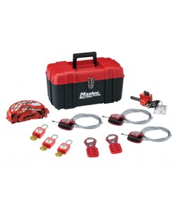 Portable Lockout kit - Valve - 3 Locks
