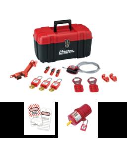 Portable Lockout kit - Electrical - 3 Locks/Tags/Plug Lock