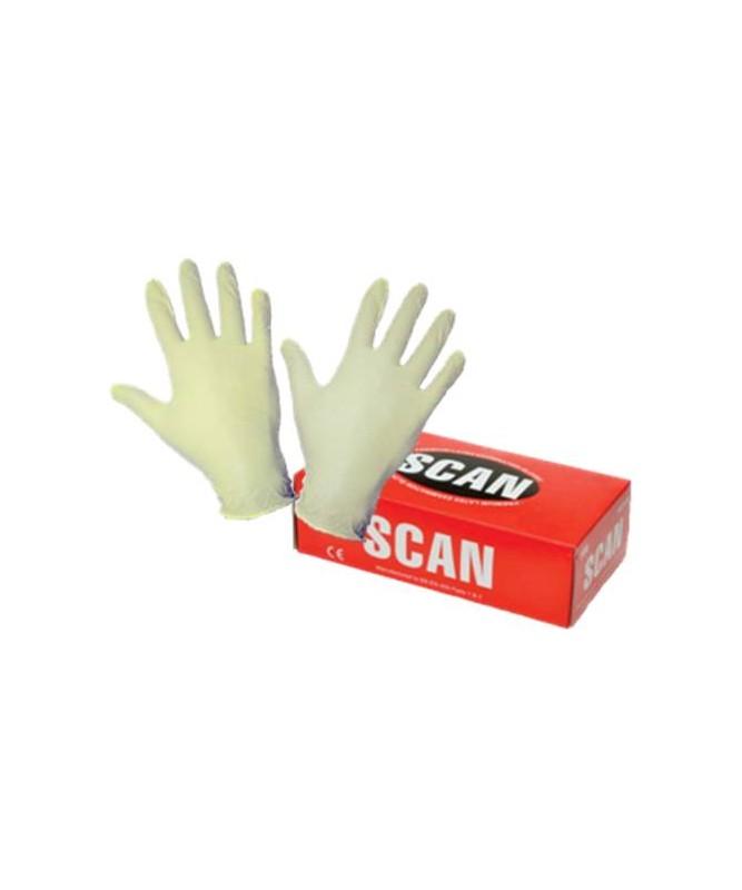 Latex Gloves Box 100