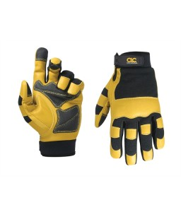 Hybrid-275 Top Grain Leather Neoprene Cuff Glove