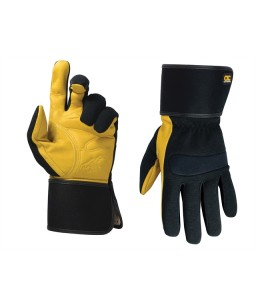 Hybrid-270 Top Grain Leather Cuff Glove