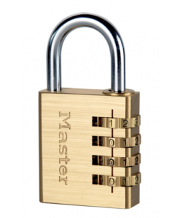 Brass Combination Padlock 4 Digit