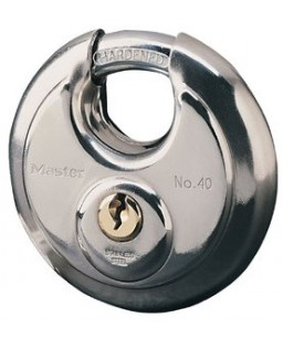 Stainless Steel Disc Lock Key Different